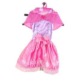 Prinsessekjole rosa / lilla 5-7 år