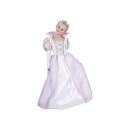 Prinsessekjole Rainbow 5-7 år