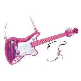 Gitar med headsettmikrofon