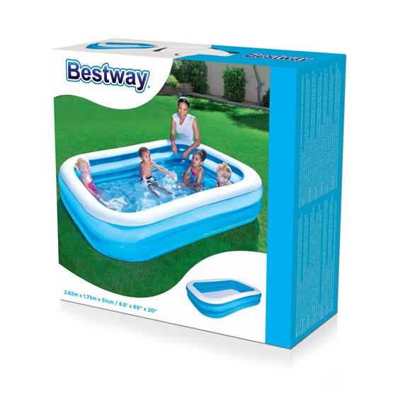 Bestway, Båt med årer og pumpe 188cm