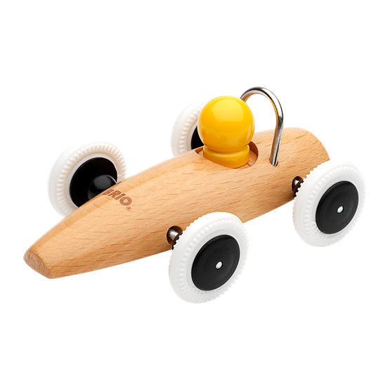 BRIO, 30077 Race car, naturell