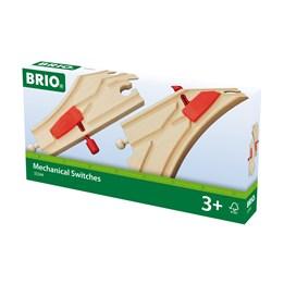 BRIO, Sporveksel m/pens, 144mm