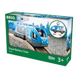 BRIO, B/O Elektrisk lokomotiv med vogn