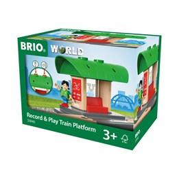 BRIO, Travel 33840 Innspillingsbar togstasjon