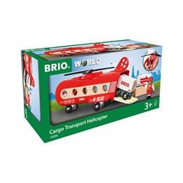 BRIO, Helikopter med figur og laster