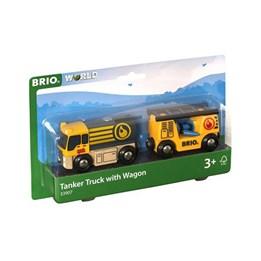 BRIO, Tankbil med vogn
