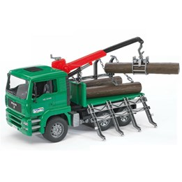 Bruder, MAN TGA 1663 Mercedes Timber bil