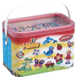 Hama, Midi Perler 10.000 Mix