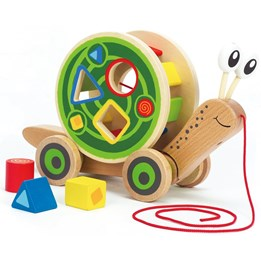 Hape, Walk-A-Long Snail