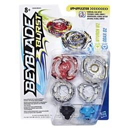 Beyblade, Burst Dual Pack - Wyvron W2 og Odax O2