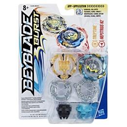 Beyblade, Burst Dual Pack - Treptune & Nepstrius N2