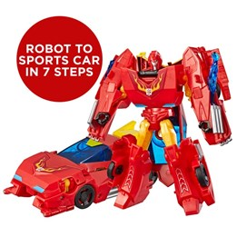 Transformers Cyberverse Fusion Flame Autobot Hot Rod
