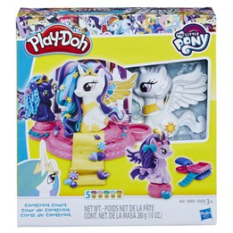 Play Doh, My Little Pony Canterlot Court