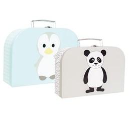Jabadabado, Pappveske pingvin & panda