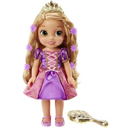 Disney Princess, Glow n´ dark singing Rapunzel 30 cm