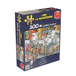 Puslespill - Godtefabrikk 500-biter