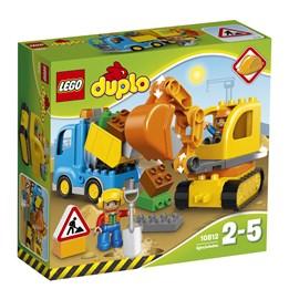 LEGO DUPLO Town 10812, Lastebil Og Gravemaskin Med Belter