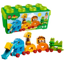LEGO DUPLO My First 10863, Min første boks med dyr