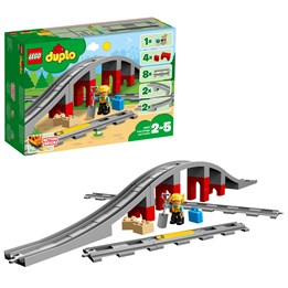 LEGO DUPLO Town 10872,  Jernbanebro og togskinner