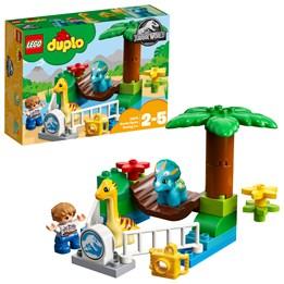 LEGO DUPLO Jurassic World 10879, Besøksgård Med Store Dyr