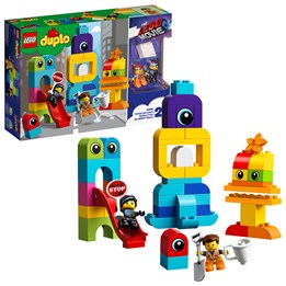 LEGO DUPLO The Movie 10895, Emmets og Lucys gjester fra DUPLO® planeten