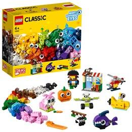 LEGO Classic 11003, Klosser og øyne
