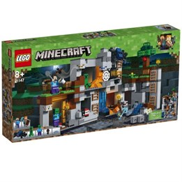 LEGO Minecraft 21147, Action inni fjellet