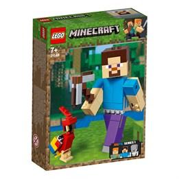 LEGO Minecraft 21148, Minecraft BigFig Steve med papegøye