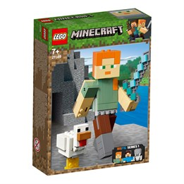 LEGO Minecraft 21149, Minecraft BigFig Alex med kylling