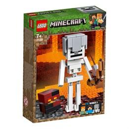LEGO Minecraft 21150, Minecraft BigFig skjelett med magmakube