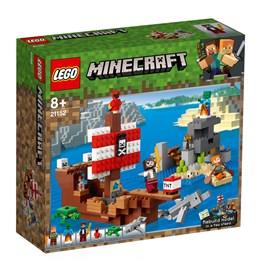 LEGO Minecraft 21152, Eventyr med sjørøverskip