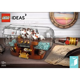 LEGO Ideas 21313, Flaskeskip