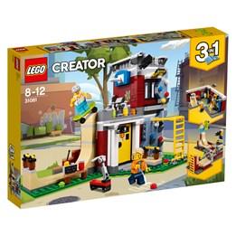LEGO Creator 31081, Modulbasert skatehus