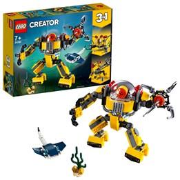 LEGO Creator 31090, Undervannsrobot