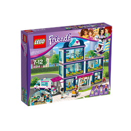 LEGO Friends 41318, I Heartlake