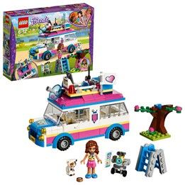 LEGO Friends 41333, Olivias oppdragsbil