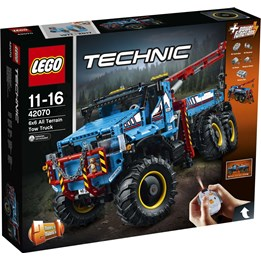 LEGO Technic 42070, Terrengående 6X6-Redningsbil
