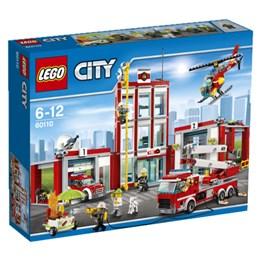 LEGO City Fire 60110, Brannstasjon