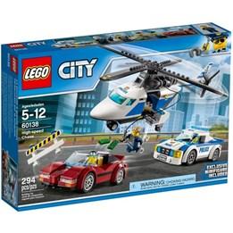 LEGO City Police 60138, Politijakt I Høy Hastighet