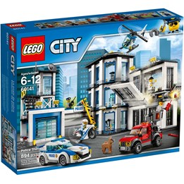 LEGO City Police 60141, Politistasjon