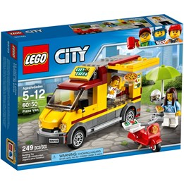 LEGO City Great Vehicles 60150, Pizzabuss