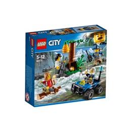 LEGO City Police 60171, Skurkejakt til fjells