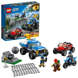 LEGO City Police 60172, Jakt i ulendt terreng