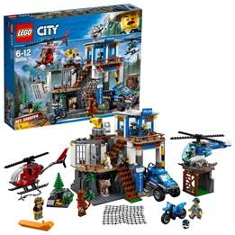 LEGO City Police 60174, Fjellpolitiets hovedkvarter