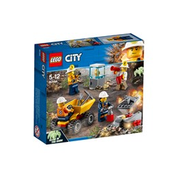 LEGO City Mining 60184, Gruvearbeidere