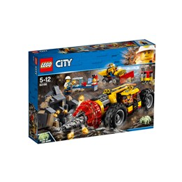 LEGO City Mining 60186, Robust boremaskin