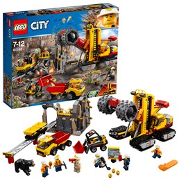LEGO City Mining 60188, Gruvedrifteksperter