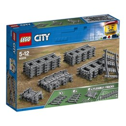LEGO City Trains 60205, Skinner og svinger