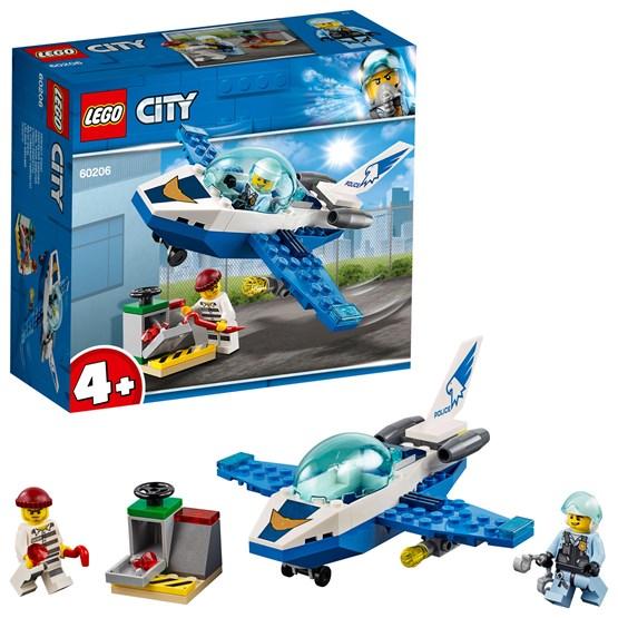 LEGO City Police 60206, Politi med jagerfly