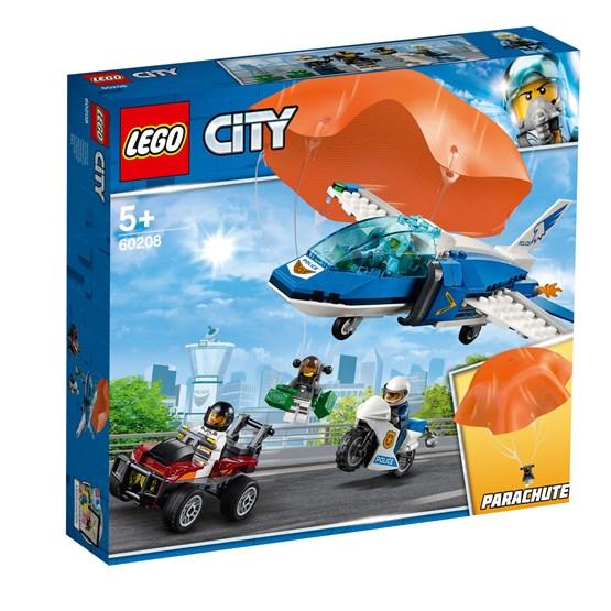 LEGO City Police 60208, Fallskjermarrestasjon